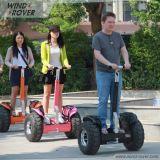 La boudineuse 72V de vent évalue le scooter électrique modèle de ville