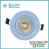 Indicatori luminosi messi LED, indicatore luminoso di soffitto del LED, indicatore luminoso di soffitto dell'interno, indicatore luminoso del Governo del professionista 5W LED con 45 gradi