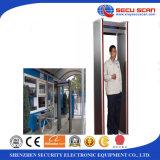 Detector de metales de interior de la arcada del uso de la visualización del LCD con zonas del máximo 18