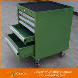 Изготовленный на заказ Metal Tool Cabinet на Wheels с Drawers