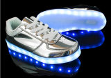 USB поручая металлическое СИД освещает ботинки с резиновый подошвами