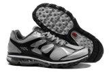 Zapatos de los amaestradores del gel de los hombres con la planta del pie sobre bolsa de aire