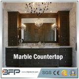 Preço de Favourabl das partes superiores de mármore da vaidade do banheiro para o projeto comercial e residencial