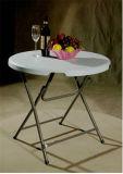 80cm Round Plastic Coffee Folding Table