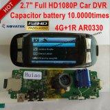 "2.7 "" LCD、完全なHD 1080P、H. 264のソニー安い専門のImx322 CMOS車DVR。 ビデオDecorderの夜間視界、組み込みGセンサー"