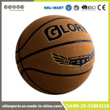 Basket-ball officiel de la taille 7 de peau de vache d'Ambossed