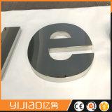 Знаки письма канала металла используемые для логоса магазина