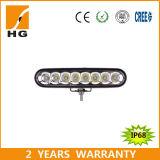 """6 """" 지프를 위한 40W LED 일 표시등 막대 크리 사람 결합 광속"""