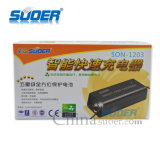 Lader van de Batterij van de Macht 3A van de Prijs van de Fabriek van Suoer 12V de Slimme Snelle (zoon-1203)