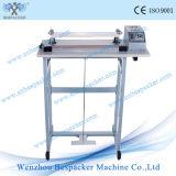 Einfacher Typ Fuss-Pedal-Plastikdichtungs-Maschine mit Ausschnitt