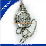 Reloj Pocket del cuarzo clásico del diseño del estilo de la vendimia