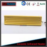 Placa de cerámica eléctrica modificada para requisitos particulares del calentador del IR