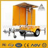VMs mobiles actionnées solaires ambres de signe de route de circulation d'Optraffic DEL