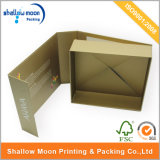 Подгонянная цветастая напечатанная коробка подарка рождества бумажная (QYZ030)