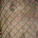 Гальванизированная садом ткань загородки звена цепи &PVC покрытая
