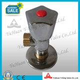 Válvula de ángulo del lavabo para el productor de la calefacción (YD-A5028)