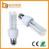 "E27 7W LED energiesparende Glühlampe der Beleuchtung-Lampen-90% (Unterseite B22/E27/E14, ""u"" formte Lampenschirme)"