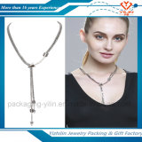 Buon Quality National Style Jewelry Sliver Necklace con Tassel