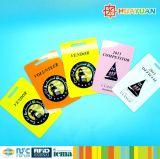 Smart Card classico stampato UID della modifica 13.56MHz MIFARE 1K RFID del distintivo di identificazione