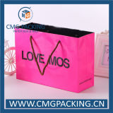 Rosafarbenes Paper Bag mit Handle (CMG-MAY-016)