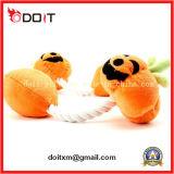 Halloween Pumpkin Dog Chew Pet Toy con Rope
