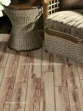 azulejo de suelo de madera del grano de la inyección de tinta 3D 150*600 Rd16010