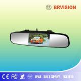 4.3 sistema del video dello specchio di automobile dell'affissione a cristalli liquidi di pollice TFT con la mini macchina fotografica di riserva