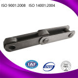 Forged d'acciaio Straight Side Plate Chain per Sugar Industry