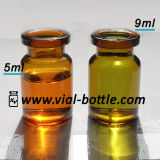 20mm Crimp Finishedの5ml Amber Glass Vial Bottle