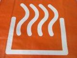Выдвиженческой дешевой хозяйственные сумки логоса сплетенные пластмассой
