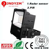 China-Großverkauf 120 Grad-hohe Leistung Epistar SMD3030 IP65 LED Garten-Flut-Leuchte