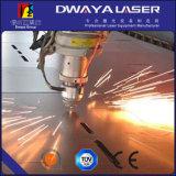 Dwy el tipo abierto cortadora de fibra óptica del laser