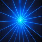 Het blauwe Licht van de Straal van de Laser 100mw voor Disco, DJ, Club, Partij