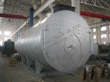 Tipo traseiro molhado petróleo da passagem da câmara de ar de incêndio 3 - caldeira de vapor despedida
