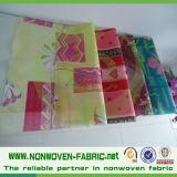 Cores e Material de embalagem não tecido de flores impressas