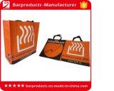 Sacs à provisions tissés par plastique bon marché promotionnel de logo