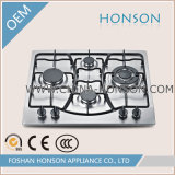 Quatre Burners Built dans Stainless Steel Gas Hobs Gas Cooktop