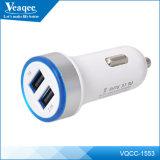 2015 5V 2.1A Dual USB порты Автомобильное зарядное устройство адаптер для мобильного телефона