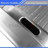 Gauffreuse électrique de partie supérieure du comptoir de surface plane pour le restaurant Dpl-620
