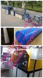 Línea reforzada fibra máquina de la protuberancia de la manguera del PVC del trenzado de la fibra