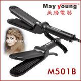 Arrugador profesional del pelo de Digitaces de la manera de la maneta cómoda de M501b