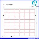 125kHz Tk4100 RFID Einlegearbeit Prelam Blatt Belüftung-Blatt für die Herstellung der RFID Karte