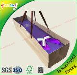 Le cadeau fait sur commande d'impression place la caisse d'emballage et les sacs pour la fleur de Valentine