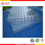 Tampas transparentes para a folha do policarbonato da telhadura