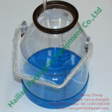 8 Reino Unido galão/nós galão Clear Milk Bucket com Handle