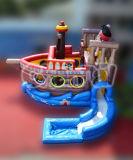 膨脹可能な水はもてあそぶ膨脹可能な海賊Jacky水スライド(CHSL415)を