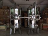 Boîtier de crépine de sable de carbone de filtration du traitement des eaux Ss304