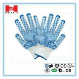 Поставленные точки PVC перчатки хлопка (SPE-PPE-HAP-PVCDHG-517-2)