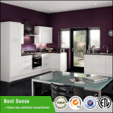 Alta lucentezza di migliore stile di senso euro/armadio da cucina modulare opaco della lacca
