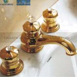 Goldener 3 Suite-Badewannen-Hahn-Mischer
